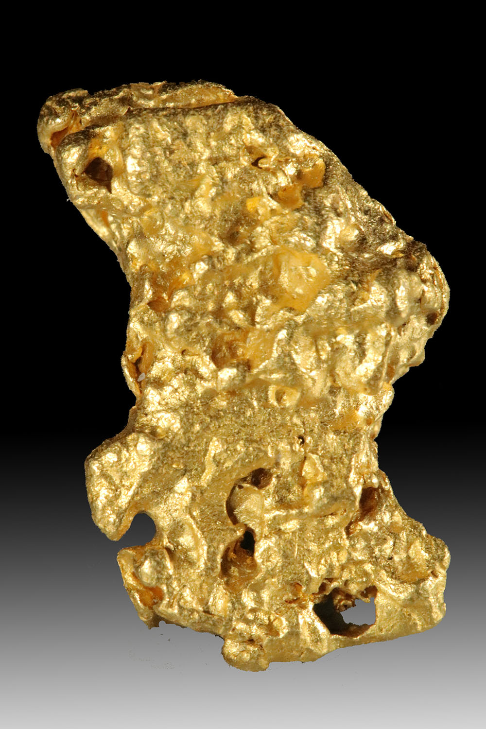 Shining Boot of Gold Shaped Raw Gold Nugget From Australia